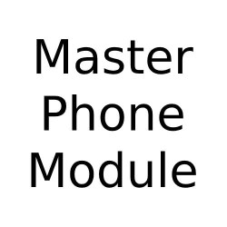 Angled Master Phone Socket, Angled Telecom Main BT Outlet for Forbes and Lomax Combination Range