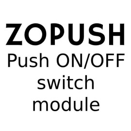 Push ON/OFF Switch Module for Forbes and Lomax Dimmer Plates