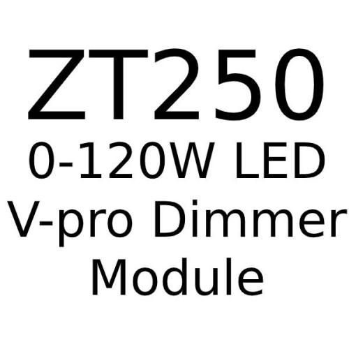 Trailing Edge V-Pro 0-120W LED Dimmer (max. 10 LED lamps) for Forbes and Lomax Dimmer Plates