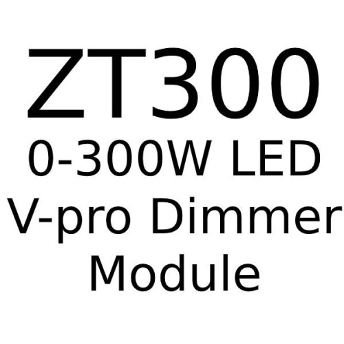 Trailing Edge V-Pro 0-300W LED Dimmer (max. 30 LED lamps) for Forbes and Lomax Dimmer Plates