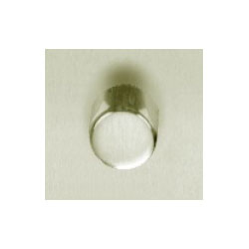 Satin Nickel Knob for Rotary Dimmer Switches made by Heritage Brass