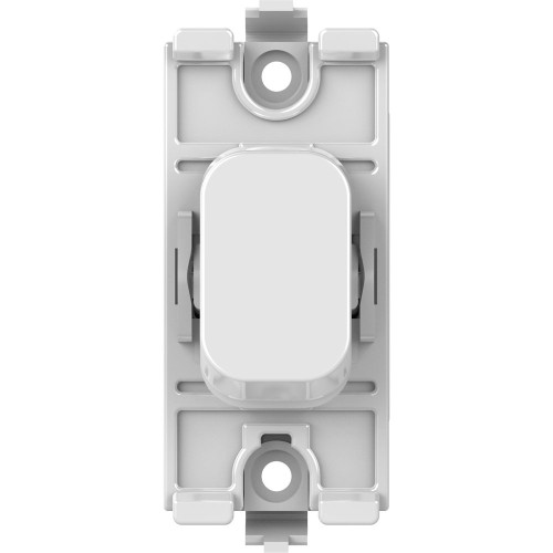 Lisse 1 Gang Intermediate 10AX Switch Module in White Moulded, Schneider GGBL10IW Switch Module