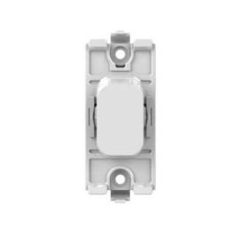 Lisse 1 Gang 2 Pole 20AX Switch Module in White Moulded, Schneider GGBL20DPW DP Switch Module