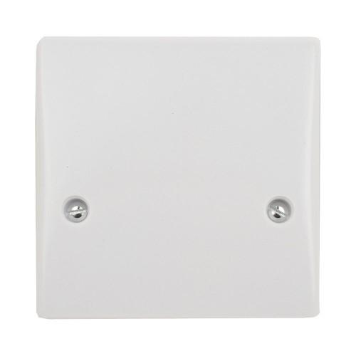 1 Gang 45A Cooker Connection Unit DP Single Plate White Plastic Slimline Schneider GU4050
