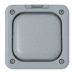 MK Masterseal K56401GRY 1 Gang Single Switch 10A 2 Way Grey Weatherproof IP66
