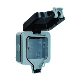 IP66 Single Enclosure (empty) BG Nexus WP1GEC 117.5mm x 159mm x 81mm Weatherproof