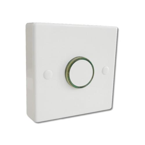 LED Time Delay Push Switch No Neutral (5-20W, 20-150W, 150-300W) Adjustable 12sec - 12min