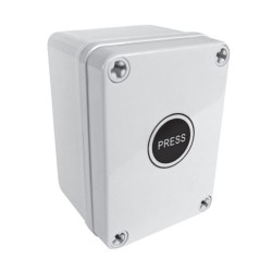 IP66 Weatherproof 16A Time Delay Switch (2 sec - 2h lag) Outdoor Switch in Grey