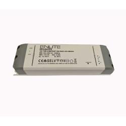 75W 12V DC Constant Voltage Non-Dimmable LED Driver Enlite EN-LED7512