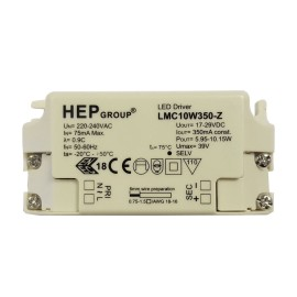 Non-dimmable 6-10W Constant Current LED Driver 350mA for Wiring LED Lights in Series, Astro 6008023
