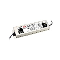 240W 24V IP67 Non-Dimmable LED Driver Constant Current 10A Constant Voltage, 100V-305V Input