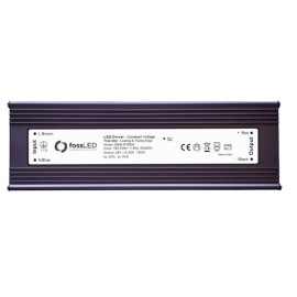 IP66 rated 24V DC 150W 5-100% Dimmable LED Driver Constant Voltage Triac Dim, FOSS LED DIMD-IP15024