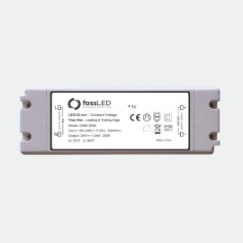 25W 24V 5-100% Constant Voltage Dimmable LED Driver (Leading & Trailing Edge) IP20 fossLED DIMD-2524