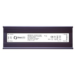 IP66 rated 24V DC 300W 5-100% Dimmable LED Driver Constant Voltage Triac Dim, FOSS LED DIMD-IP30024