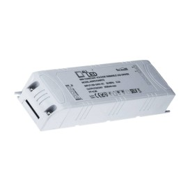 60W 24V DC Constant Voltage Triac Dimmable LED Driver with a Compact Size, Mains Dimmable