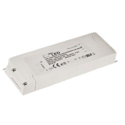 12V 60W Triac Dimmable LED Driver Constant Voltage, 60W Max Output LED Dimming Controller