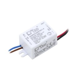 1-4W 350mA Dimmable Constant Current LED Driver 6-12V DC Output Voltage with Pre-Flexed Cables