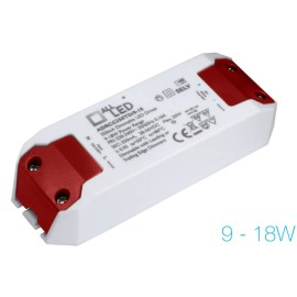 9-18W 350mA Mains Dimmable Constant Current LED Driver Compact Size Flicker Free, All-LED ADRCC350TD/9-18