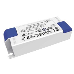 14W 350mA Constant Current LED Driver with output voltage 25V-40V Class II IP20, Saxby 92506