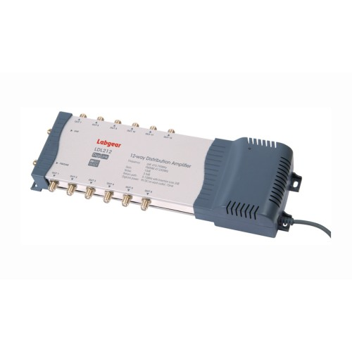 Labgear LDL212 4G Ready 2-input 12-output DigiLink Distribution Amplifier with Bypass