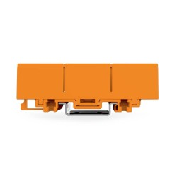 Wago 2773-500 Mounting Carrier in Orange for 2773 Series for DIN-35 Rail Mounting/Screw Mounting