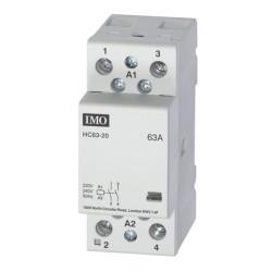 63A 2 Pole Heating Contactor IMO HC63-20230 Modular, 230V AC Coil 2 Pole Normally Open Contact
