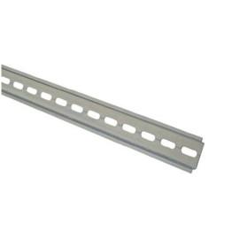 Slotted DIN Rail 1m Length 35mm width, TS35 Top Hat Din Rail