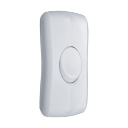 2A In-line Switch in White ideal for Switching the Table Lamps, White Inline Switch