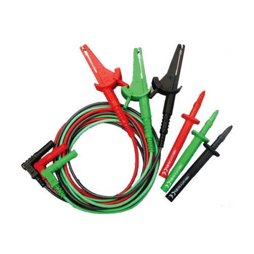 17th Edition 3 Wire Lead Set for Multi-function Testers such as Di-Log 9073 & 9083P