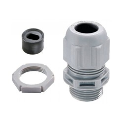 Wiska Plastic Cable Gland LSF Kit for 2.5-4mm2 LSF 20mm Flat Cable c/w Insert and Locknut IP68