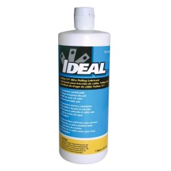 Ideal Yellow 77 Wire and Cable Pulling Lubricant, Wax Lube 950ml Bottle