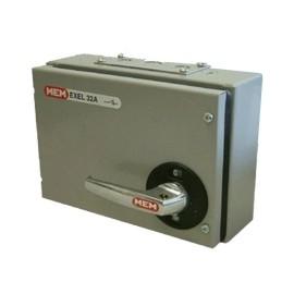 Eaton MEM Exel2 TPN Fuse Switch Disconnector 32A 415V in Grey, IP41 MEM 30KXTNC2F