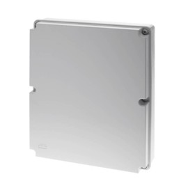 Surface Sealed Box in Light Grey 460mm x 380mm x 120mm IP65 rated, Wiska WIB15