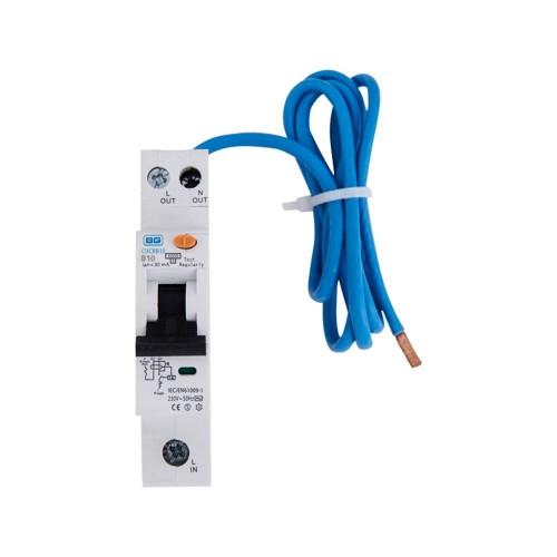 BG 10A RCBO Single Pole Type A 30mA 6kA B Curve for the BG Consumer Units, BG CUCRB10A Circuit Breaker