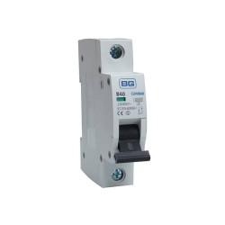 BG CUMB40 40A Miniature Circuit Breaker MCB Single Pole 6kA B Curve for BG Consumer Units