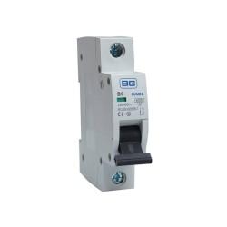 BG CUMB6 6A Miniature Circuit Breaker MCB Single Pole 6kA B Curve for BG Consumer Units