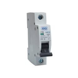 BG CUMC16 16A Type C MCB Single Pole 6kA Breaking capacity Miniature Circuit Breaker for BG Consumer Units