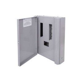 8 way Memshield 3 TPN metal distribution board type B Three phase without incomer 125A, Eaton EBM81