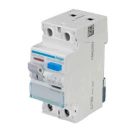 Hager CDA225U Double Pole 25A 30mA RCCB 2P A Class, Hager Residual Current Circuit Breaker