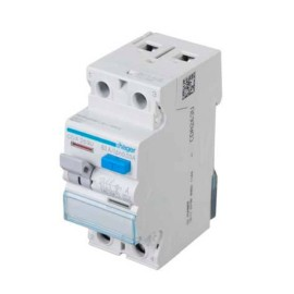 Hager CDA263U Double Pole 63A 30mA RCCB 2P A Class, Hager Residual Current Circuit Breaker