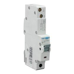 20A type C RCBO Electronic 1P 10kA, 30mA Type A(AC & Pulsating DC Sensitive) 1M Hager ADA170U