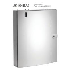 Hager Invicta JK104BA3 125A 4 Way TPN Distribution Board Amendment 3 with Plain Door Type B