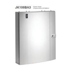 Hager Invicta JK108BA3 125A 8 Way TPN Distribution Board Amendment 3 with Plain Door Type B