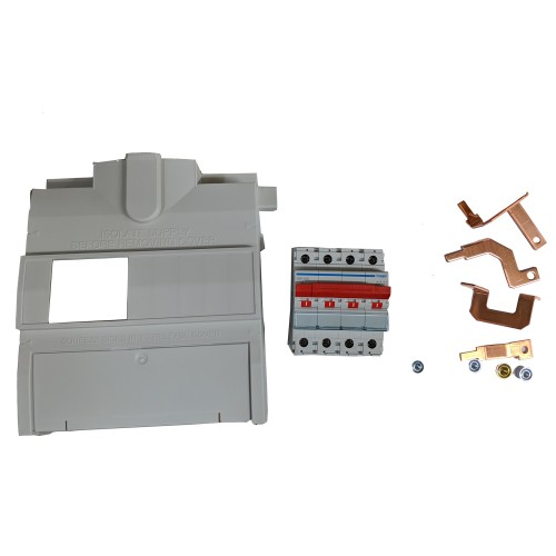 Hager 100A 4 Pole Mains Switch Incomer Kit, JK11004S Four Pole Switch Disconnector / JK1 Isolator Kit