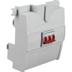 Hager 3 Pole 125A Switch Disconnector, Mains Isolator for Hager Distribution Boards