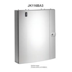 Hager Invicta JK116BA3 125A 16 Way TPN Distribution Board Amendment 3 with Plain Door Type B