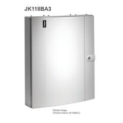 Hager Invicta JK118BA3 125A 18 Way TPN Distribution Board Amendment 3 with Plain Door Type B