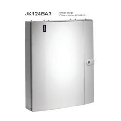 Hager Invicta JK124BA3 125A 24 Way TPN Distribution Board Amendment 3 with Plain Door Type B