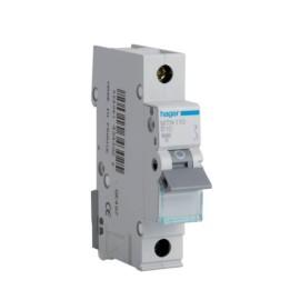 Hager MTN110 10A 1 Pole Type B 6kA Miniature Circuit Breaker, Single Pole MCB