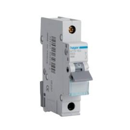 Hager MTN163 63A 1 Pole Type B 6kA Miniature Circuit Breaker, Single Pole MCB